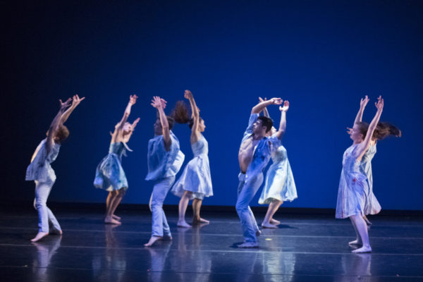 "The Portland Ballet dancers perform ""Us,"" choreographed by Josie Moseley. Photo credit: Blaine Truitt Covert"