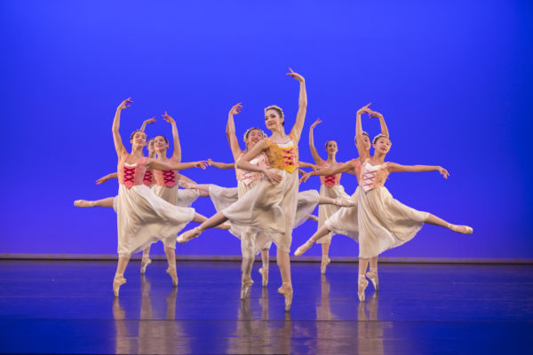 Festival Russe, Lauren Kness and Youth Company Dancers, Photo by Blaine Truitt Covert