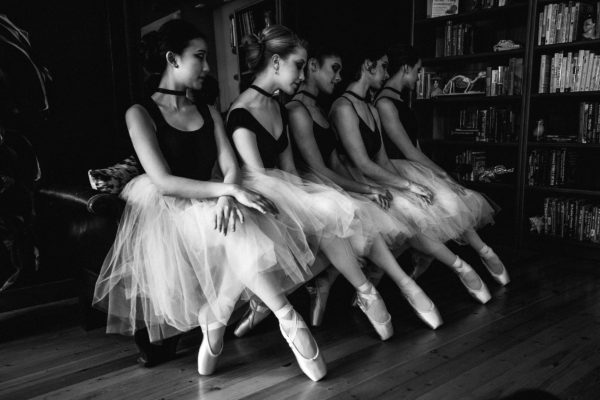 Melanie Labs, Poppy Coleman, Grace Noelle, Elliana Kirk, photo by Justine Garver